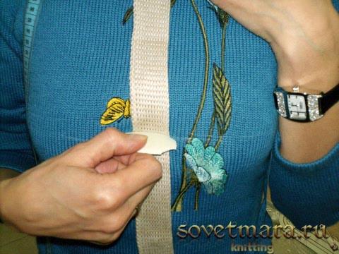 петли для пуговиц на вязаной планке
